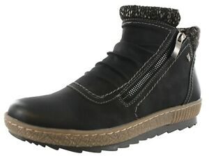 SPRING STEP WOMEN'S CLEORA DUAL ZIPPER ANKLE BOOTIES