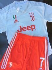 Maglia Juventus Adidas Ronaldo 2019 2020 Shirt Camiseta size L Player Away Short