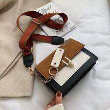 Mini Handbags Women Fashion Fire Retro Wide Shoulder Strap Messenger Bag Purse