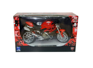 Ducati Monster 1100 in Red (1:12 scale by New-Ray Toys 44023A)