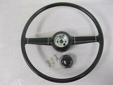 "1940 Ford 15"" Steering Wheel + Horn Button Fits GM Flaming River Ididit + Column"