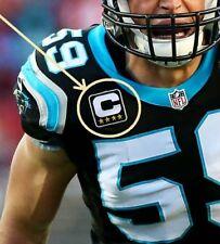 NFL 2017 SEASON CAROLINA PANTHERS' CAPTAIN LB Luke Kuechly IRON-ON 4⭐STAR PATCH