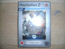 Play Station 2; Medal of Honor: Rising Sun