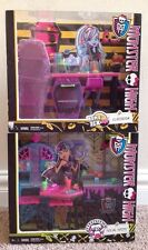 NEW MONSTER HIGH 2 PLAYSETS HOME ICK CLASSROOM, CREEPATERIA SOCIAL SPOTS