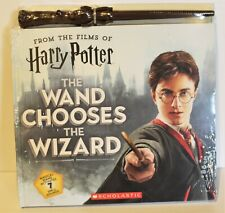 Harry Potter Scholastic The Wand Chooses The Wizard Wand With Sounds