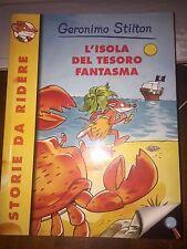GERONIMO STILTON L'ISOLA DEL TESORO FANTASMA Piemme 1^ediz 2003  brossurato