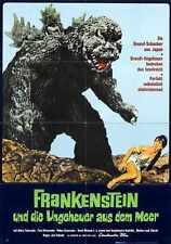 Godzilla Vs Sea Monster Poster 05 A3 Box Canvas Print