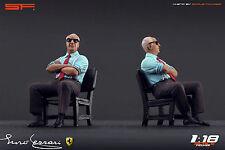 1:18 Enzo Ferrari sitting VERY RARE!!! figurine NO CARS !! for diecast collector
