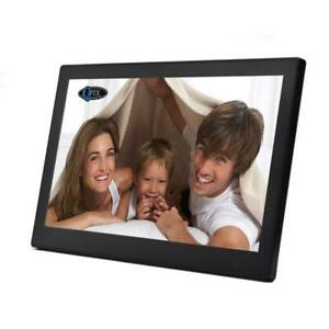 QPIX 10'' Digital Photo Frame Multi-Function Remote Control 1024*600 8GB Memory