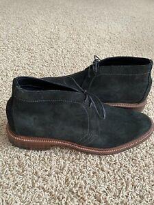 Men's Alden Flex-welt black suede Chukka (#1497)- Size 9D- (barely worn)