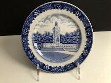 """Old English Staffordshire Ware Eternal Light Piece Memorial Collector Plate 7"""""""
