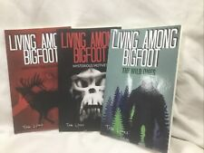 Lot Of 3 Bigfoot Books By Tom Lyons