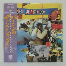 VA - BURNING AMBITION LP 1986 JAPAN PUNK SEX PISTOLS G.B.H. DISCHARGE BUZZCOCKS