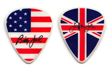 Elton John Billy Joel Signature US/UK Flag Guitar Pick - 2010 Face 2 Face Tour