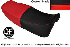 RED AND BLACK VINYL CUSTOM FITS HONDA VF 750 F 83-84 DUAL SEAT COVER ONLY