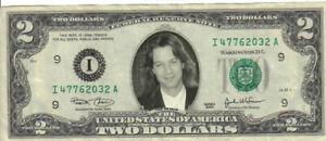 Eddie Van Halen $2 Mint! Rare! $1
