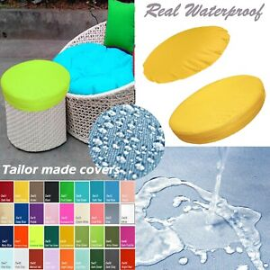 TAILOR MADE COVER*Patio Round Cushion Waterproof Papasan Swing Chair Daybed Dw02