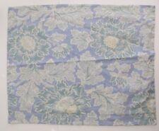 2 Pottery Barn Pillow Cushion Covers Shams Blue Green Linen Cotton EUC 20X26 Lot
