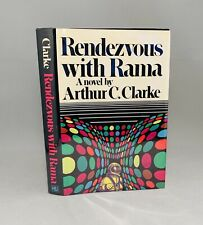 Rendezvous with Rama-Arthur C. Clark-TRUE First Edition/1st Printing!-VERY RARE!