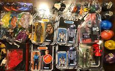 Star Wars Retro Vintage Collection Lando, black, R2-D2 Shadow guard Figure Lot