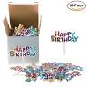 Mini Plastic Happy Birthday Cupcake Cake Toppers Picks For Party Dessert