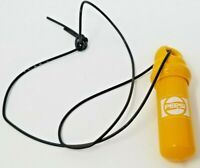Vintage 1980s Bright Yellow Waterproof Floating Pepsi Key Container