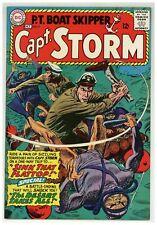 Capt. Storm #9 P.T. Boat Skipper Irv Novick Jack Abel 1965 DC war Comic (j#2154)