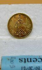 FRANCE 2009 : 1 pièce de 10 cent de rouleau