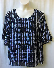 Autograph Size 16-18-20 Top Blouse NEW+TAGS 3/4 Slv Work Casual Evening Occasion
