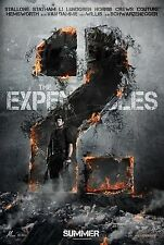THE EXPENDABLES 2 - Movie Poster - Flyer - 13.5x20 - ADVANCE