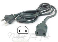 2-Prong 6ft AC Power Cord for Vtg Roland Sampling Groovebox Model MC-909 Sampler