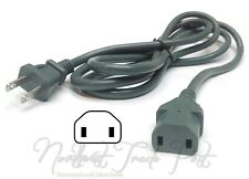 2-Prong 6ft AC Power Cord for Vtg Roland Sampling Groovebox Model MC-909 Sampler
