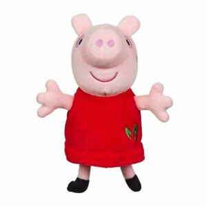 Peppa Pig ~ Eco Plush Peppa Pig ~ Made From 100% Recycled Materials