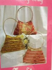 MoonShine Sewing Pattern MS16 The Frilly Bag Handbag Monica Poole Uncut