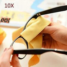 10x Microfiber Phone Screen Camera Lens Glasses Cleaner Cleaning Cloth Duster SS