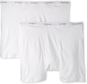 Hanes Mens Underwear Classics 2 Pack Big Boxer Brief 4- Pick SZ/Color.