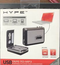Hype Usb Tape-to-Mp3 Portable Player and Converter New in Box