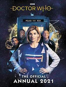 Doctor Who Annual 2021 by Who  Doctor, NEW Book, FREE & FAST Delivery, (Hardcove