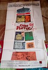 Gay Purr-ee 3sh Movie Poster JUDY GARLAND Animated CHUCK JONES Mel Blanc 1965