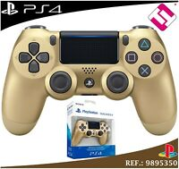MANDO PS4 DUALSHOCK DORADO ORO ORIGINAL PLAYSTATION 4 SONY TOP EDICION LIMITADA