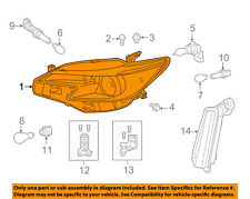Scion TOYOTA OEM 13-15 tC-Headlight Head Light Headlamp 8117021180