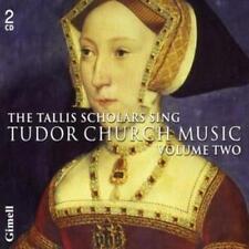 Thomas Tallis : Tudor Church Music Vol. 2 (Tallis Scholars) CD (2008)