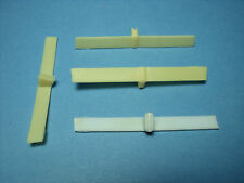 4  AILERONS  REAR  WINGS   1/18   VROOM  F1  ACCESSORIES   MATTEL  MINICHAMPS