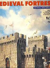 MiniArt Medievale Fortezza medievale Fortezza 1:72 Modello Kit Burg NUOVO