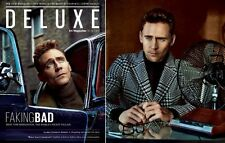 DELUXE ES Magazine,Tom Hiddleston Thor The Dark World Loki,Jeremy Hackett NEW