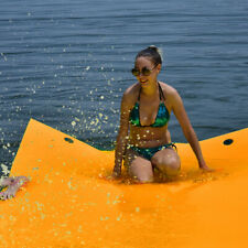 3 Layer Tear-proof Water Mat Floating Pad Island Water Sports Relaxing 12' x 6'