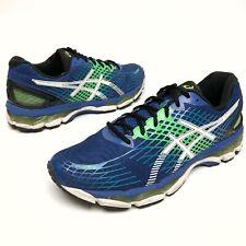 @@ Asics Gel Nimbus 17 Mens 11.5 Eu46 Athletic Running Shoes Blue Green White