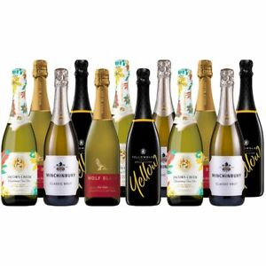 Sparkling Wine Everyday Celabration Mixed Value Pack Wolf Blass - 12 Bottles