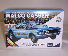 MPC AMT 1/25 Ohio George Malco Gasser 1967 Mustang  Drag Plastic Kit  #800 WHITE
