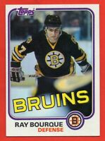 1981-82 Topps #5 Ray Bourque Pack Fresh NEAR MINT/MINT+ Boston Bruins FREE SHIP